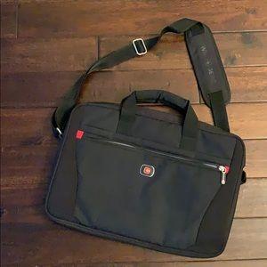 Swiss Gear Padded Computer Bag w/ trolley strap